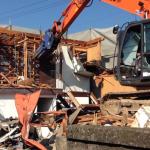 【解体動画 富山】RC造の上の木造解体工事(富山市)