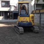 【便利屋動画富山】解体工事終了後の整地及び砕石敷き均し作業(富山市)